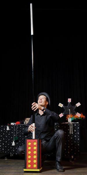 Ostschweizer Zauberkünstler Zauberer Magic Dean